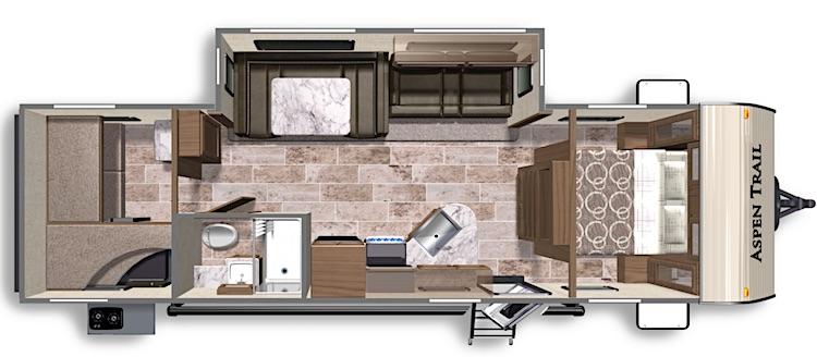 2020 Dutchmen Aspen Trail 2910BHS floorplan