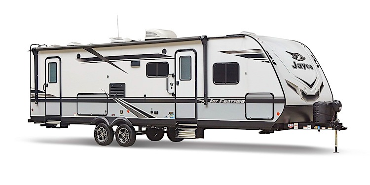 2020 Jayco Jay Feather 29QB Travel trailer with 2 bedrooms