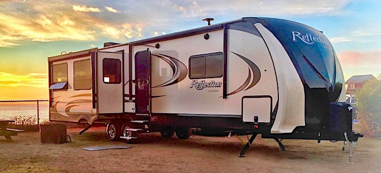 2020 Grand Design Reflection 312BHTS travel trailer with 2 bedrooms