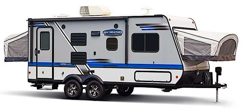 Jayco-Jayfeather-hybrid-travel-trailer