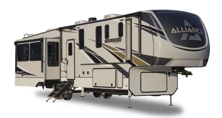 Alliance RV Paradigm 310RL luxury 5th wheel ext