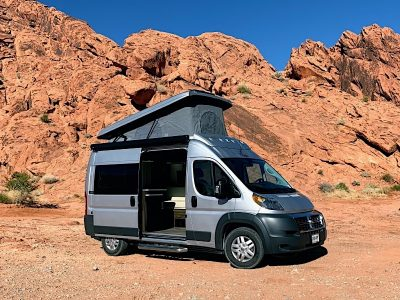 Campervan Rental in Utah Desert