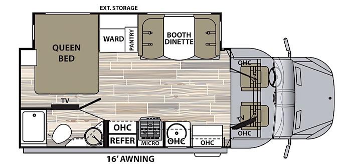 Dynamax Isata 3-24FW floor plan