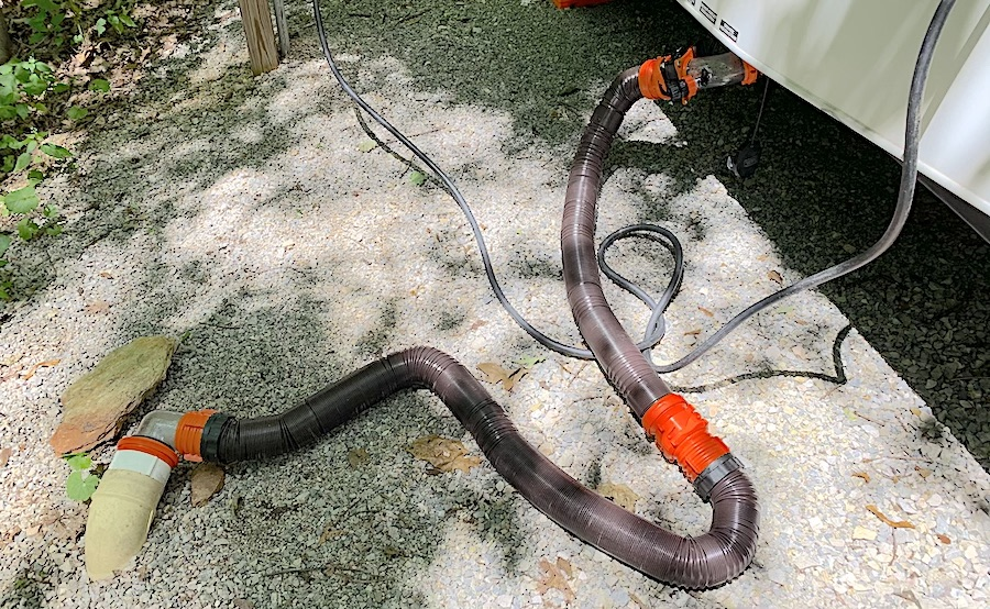 How to Clean and Store an RV Sewer Hose