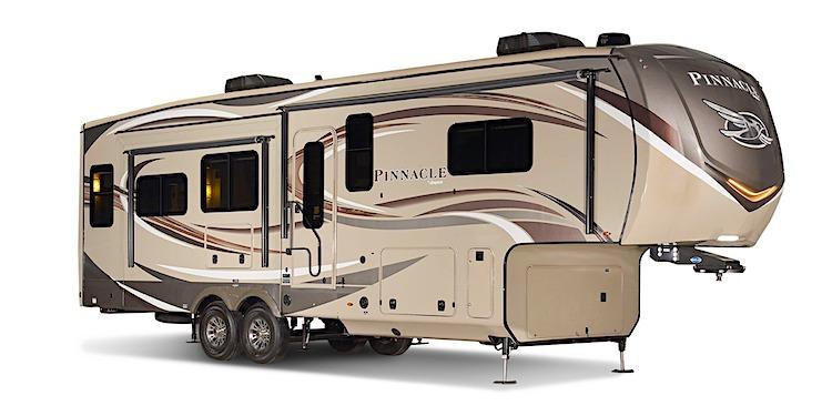 Jayco Pinnacle 3655WS luxury fifth wheel ext