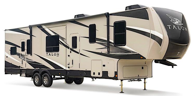 Jayco Talon 403T 5th wheel toy hauler ext
