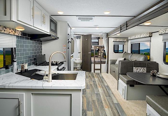 Keystone RV Bullet 243BHS bunk beds travel trailer