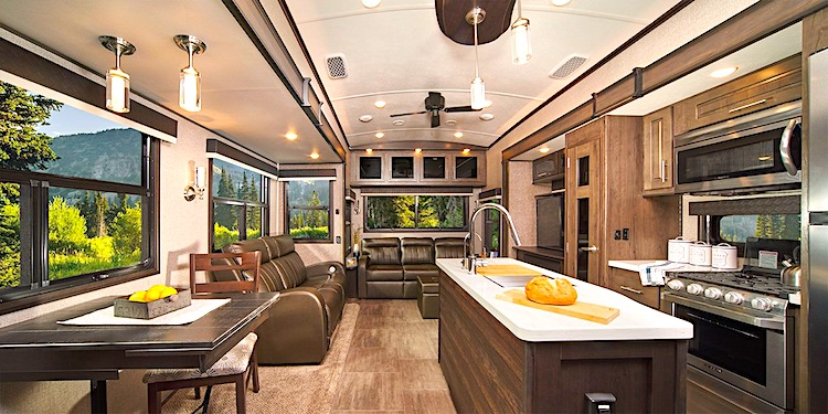 North Point 377RLBH luxury 5th wheel int