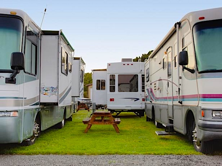 small rv campsites