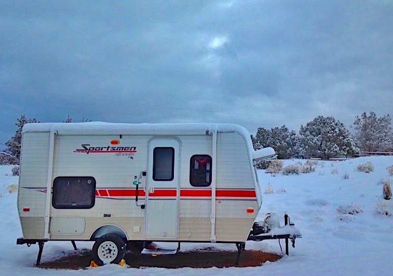 Can You Live in an RV or Camper in the Winter?
