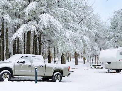 Can You Use a Camper in the Winter?