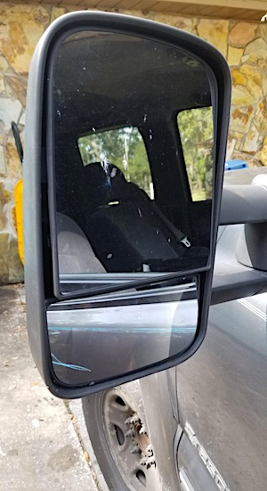 Driver Side Lower Towing Mirror