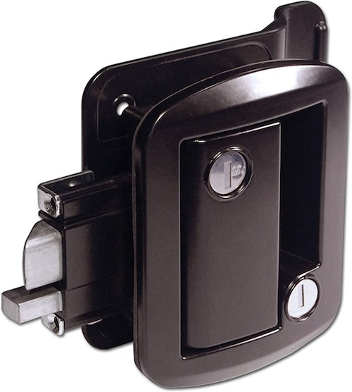 Exterior RV door lock