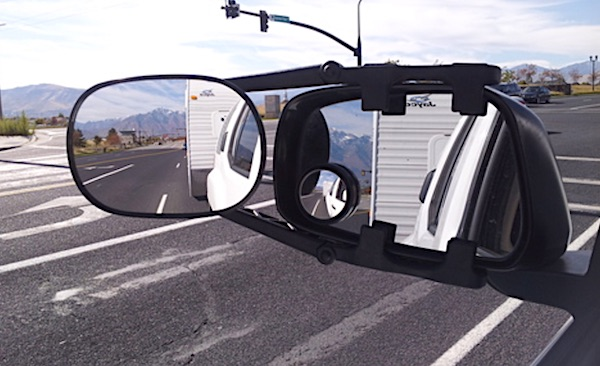 Fit System Deluxe Clip-on Trailer Towing Mirror