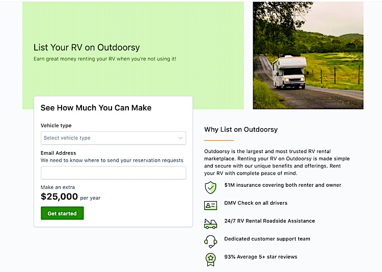 How Much Can I Make Renting an RV on My Property