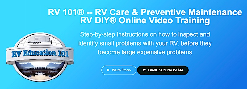 RV Care and Preventative Maintenance