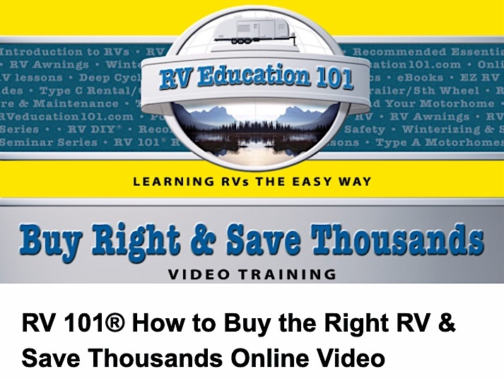 RVeducation101 Buy The Right RV Save Thousands