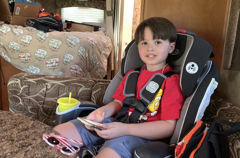 Can You Put Car Seats in an RV?