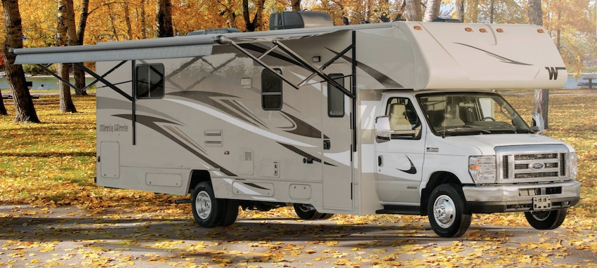 Class C RV Under 30 Feet Ext Minnie Winnie