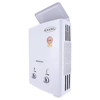 Excel Vent Free Tankless Water Heater