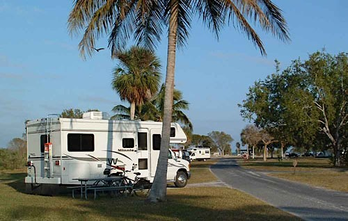 Flamingo Campground RV Camping Everglades