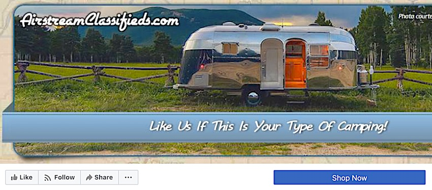 Is Airstream Classifieds Also on Facebook?