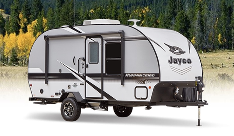 Jayco Hummingbird 16MRB Travel trailer with murphy bed exterior
