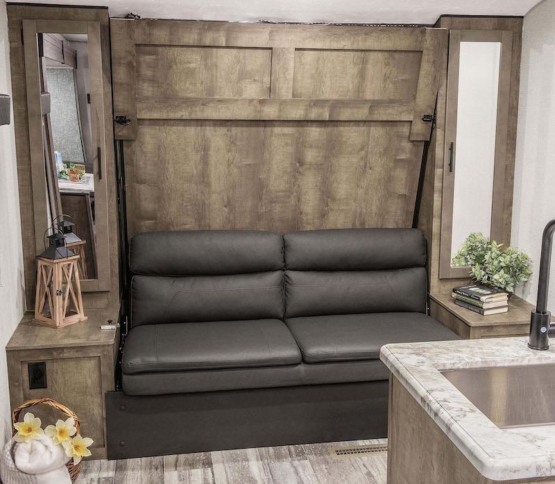 KZ RV Connect SE C231BHKSE Travel Trailer murphy bed Sofa
