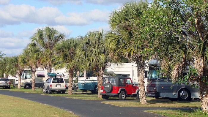 RV Camping Everglades Long Pine Key Campground