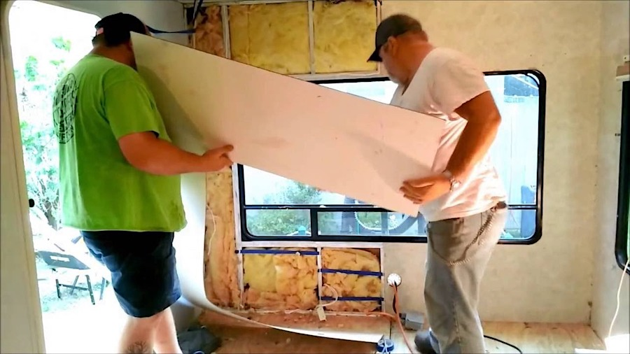 What Are RV Interior Walls Made Of?