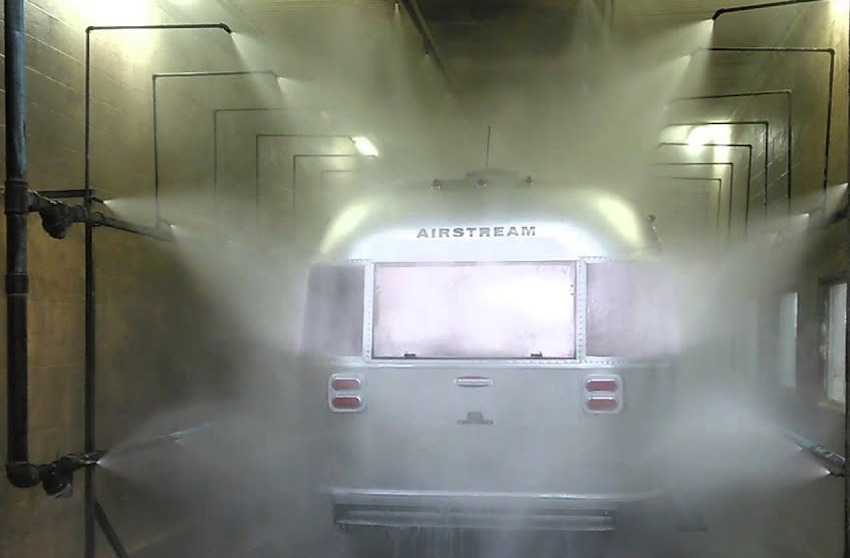 airstream leak test