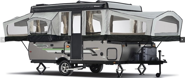 Forest  River Rockwood High Wall Popup Camper Series