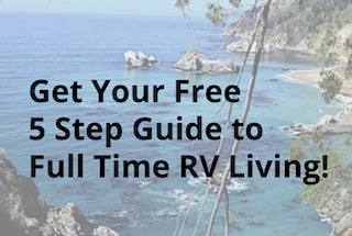5 step guide to full time rv living