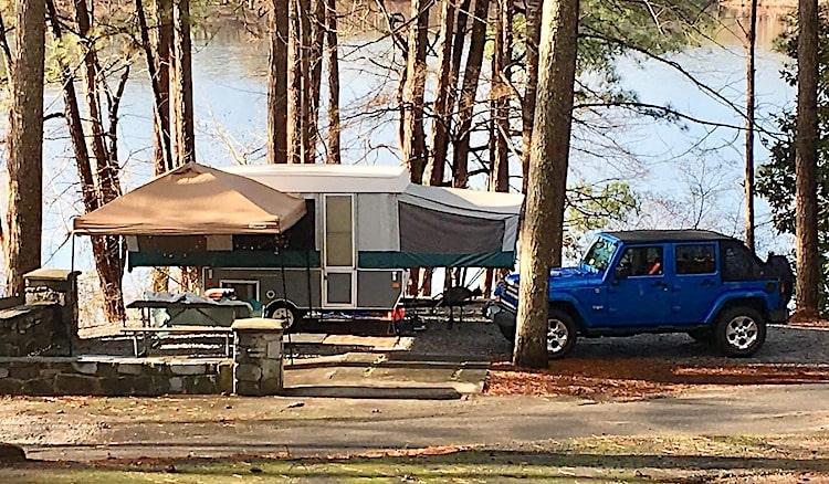 Best folding tent camper augusta
