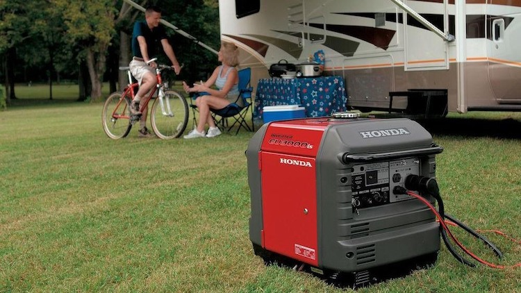 Can I Run My RV AC When Plugged Into a Generator?