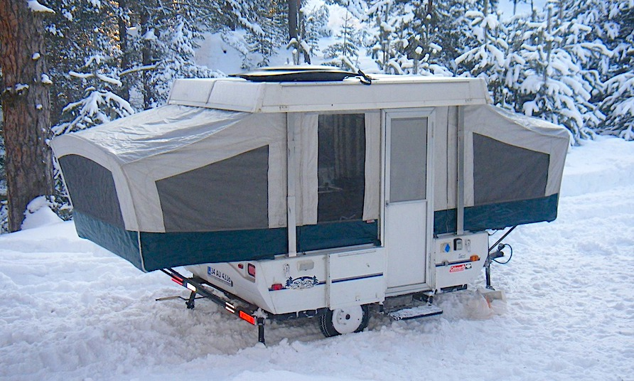 Can You Use a Pop Up Camper in the Winter?