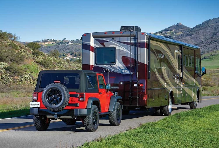 Can Your Motorhome Tow Your Car Truck or Jeep?