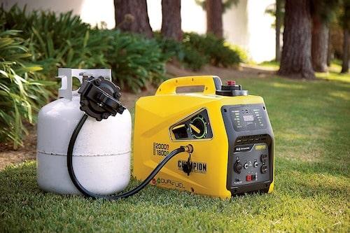 Champion 2000 Watt Dual Fuel Portable Inverter Generator