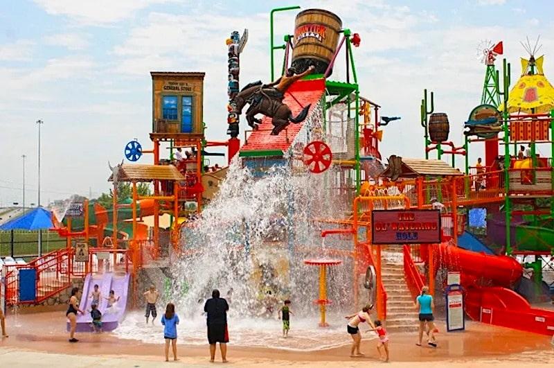 Frontier City Theme Park Oklahoma City