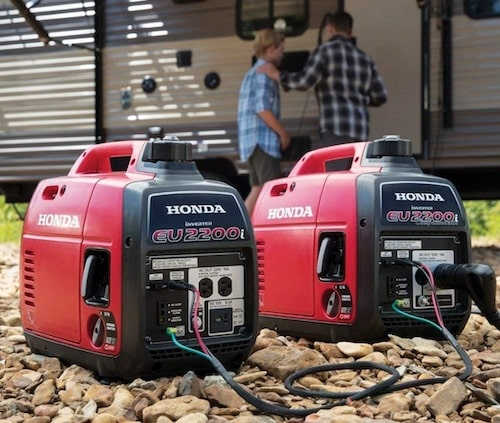 Honda EU2200i 2200 Watt Super Quiet Portable Inverter Generator