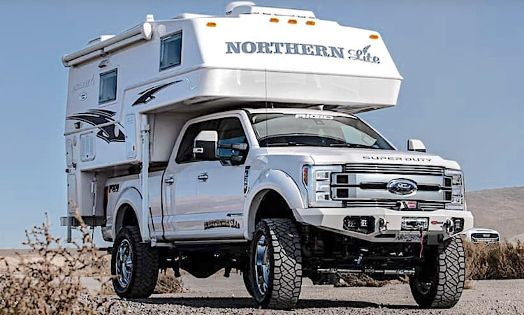 Northern Lit 4 season truck camper