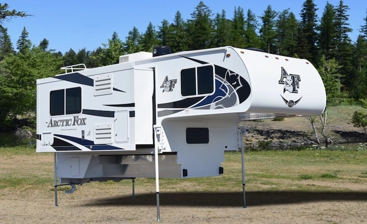 Northwood Arctic Fox 4 season truck camper