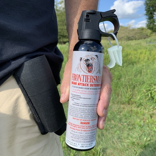 Should I Keep Bear Spray on Board My RV?