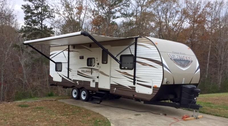 Travel trailer rental in chattanooga TN