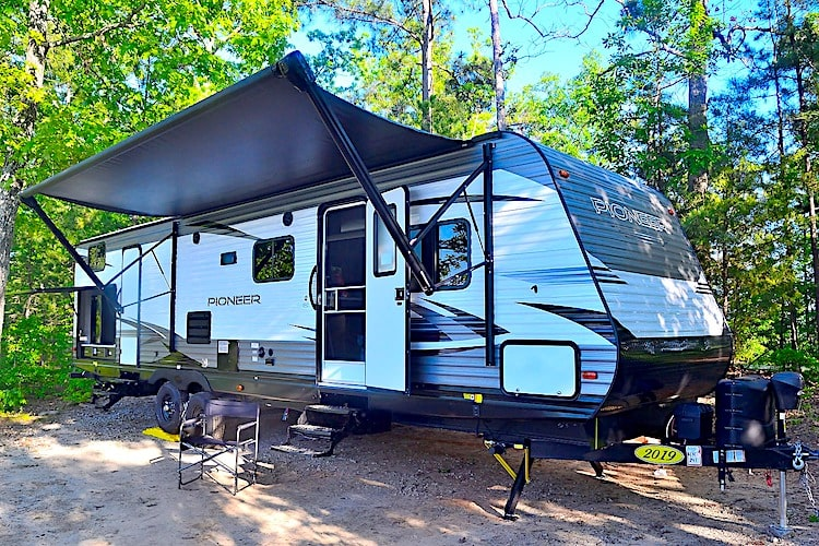 Travel trailer rental augusta ga