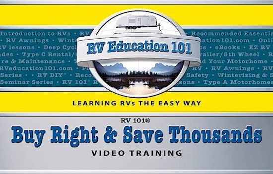 How to buy an RV course