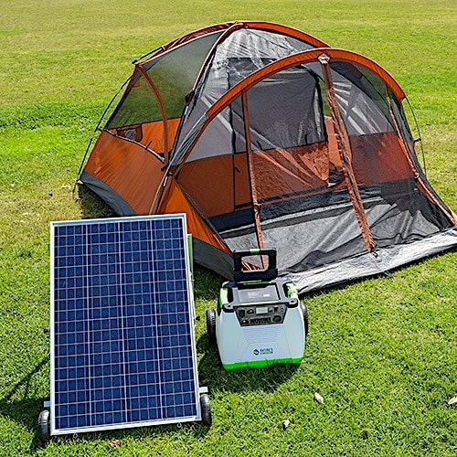 natures generator solar power portable for camping rving