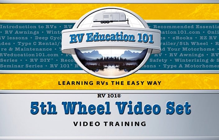 5th wheel training video course bundle