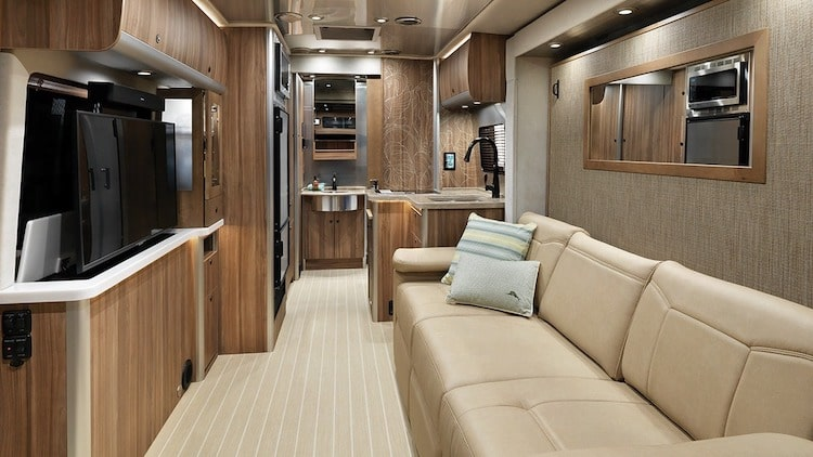 Airstream Tommy Bahama Interior