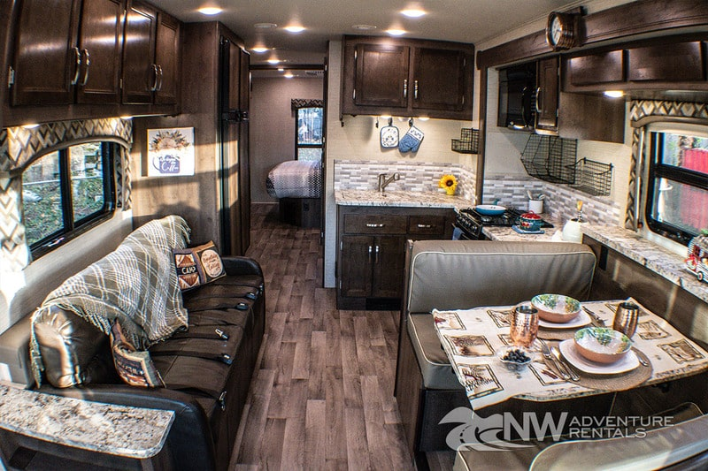 Best Class A RV Rental Portland Int